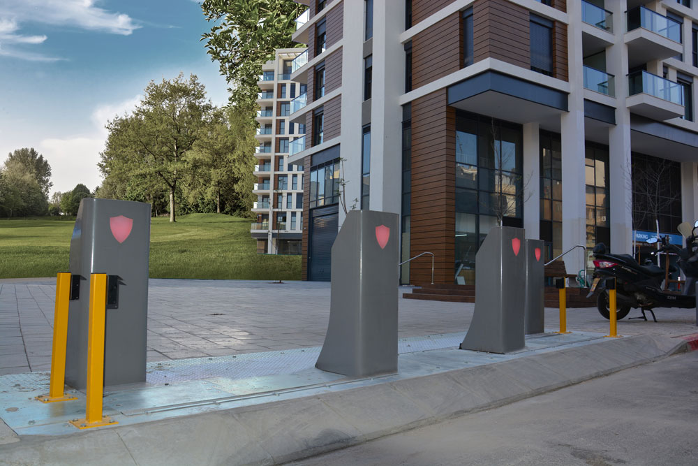 METIS K-4 Surface mount bollards