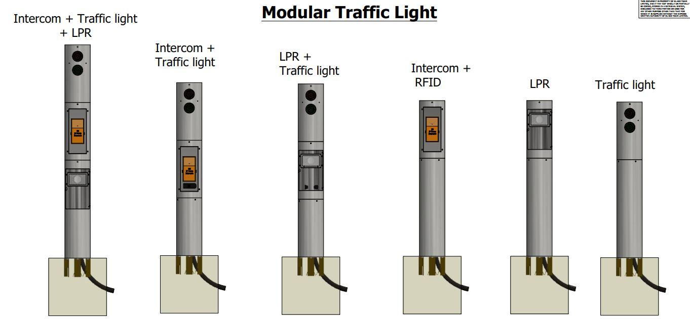 Modular Traffic Light